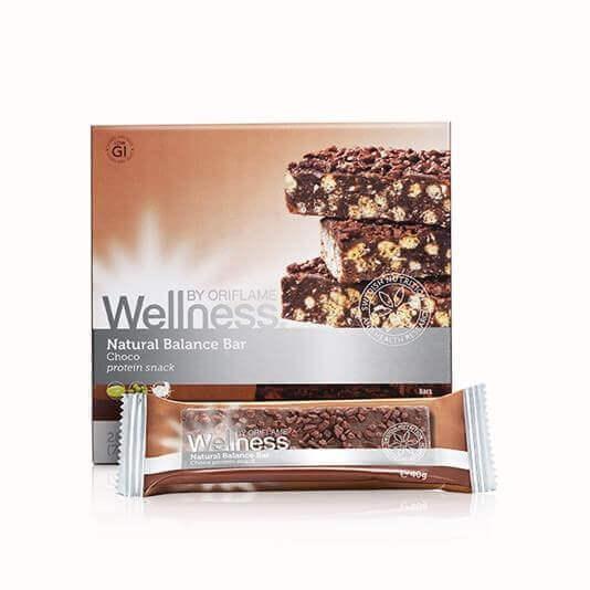 Baton proteinowy Natural Balance czekoladowy Wellness ORIFLAME