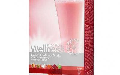 Truskawkowy koktajl Natural Balance Wellness ORIFLAME