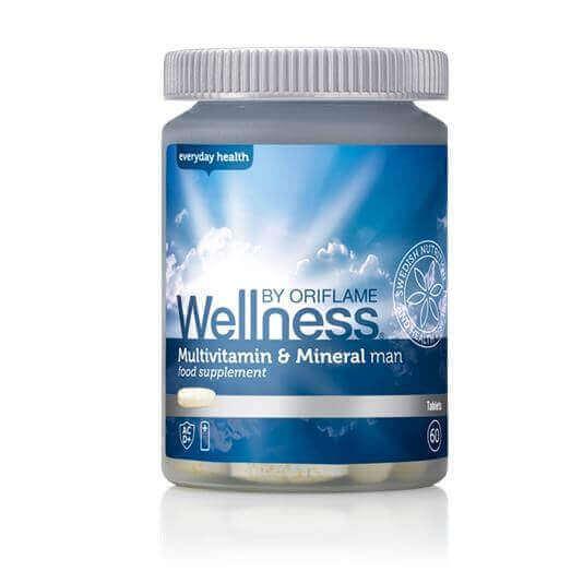 Multiwitaminy i minerały dla mężczyzn Wellness ORIFLAME