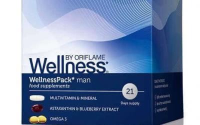 Wellness Pack suplement diety dla mężczyzn ORIFLAME