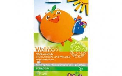 Multiwitaminy i minerały WellnessKids ORIFLAME