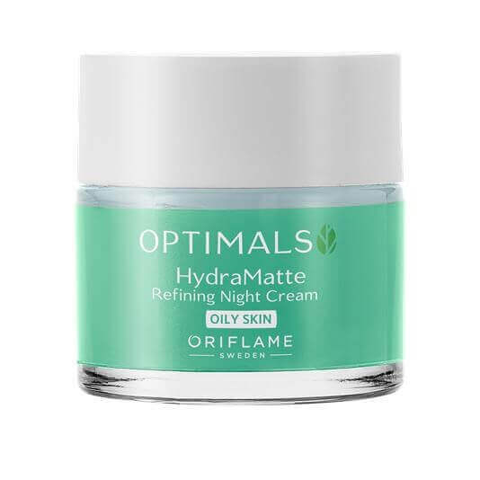 Krem na noc Optimals Hydra Matte do cery tłustej ORIFLAME